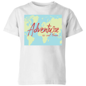 Adventure Is Out There Kids' T-Shirt - White