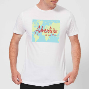 Adventure Is Out There Men's T-Shirt - White