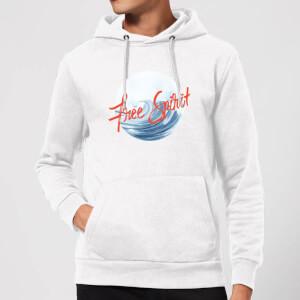 Free Spirit Tidal Wave Hoodie - White