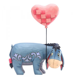 Love Floats, Figurine Bourriquet avec un ballon en forme de cœur – Disney Traditions