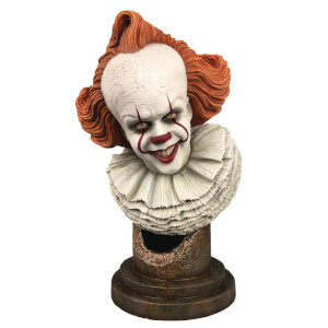 Busto 1:2 di Pennywise, da It - Capitolo due, Legends in 3D - Diamond Select - 25 cm