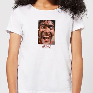 Evil Dead 2 Ash Close-Up Women's T-Shirt - White