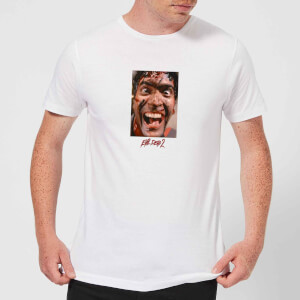 Evil Dead 2 Ash Close-Up Men's T-Shirt - White