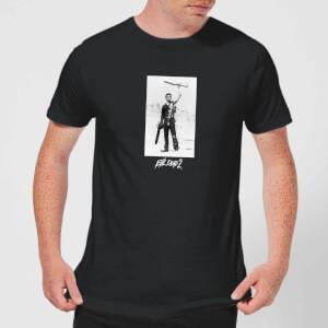 Evil Dead 2 Ash Boomstick Men's T-Shirt - Black