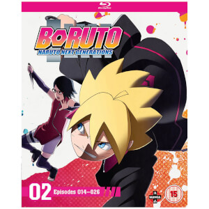 Boruto: Naruto Next Generations Set Two (Episodes 14-26)