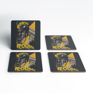 Paris Roubaix Coaster Set