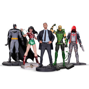 Méga lot DC Collectibles - 5 Figurines