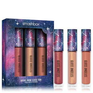Smashbox Cosmic Celebration Divine Shine Gloss Angeles Trio (Worth £45.00)