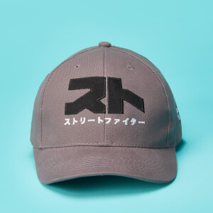 Casquette Street Fighter Logo Classic - Gris
