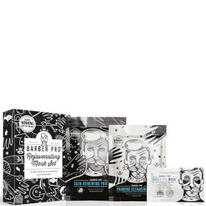 BARBER PRO Rejuvenating Mask Set (Worth £12.85)