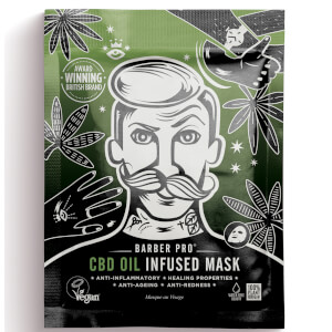 BARBER PRO CBD Oil Infused Mask 30g