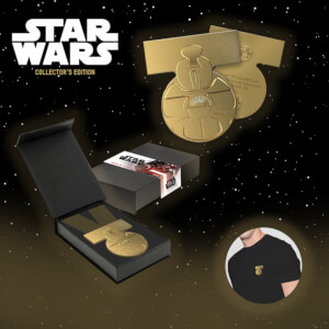 Médaille officielle Star Wars Yavin - Zavvi Exclusif
