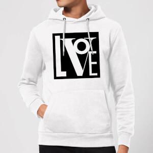 Love Hoodie - White