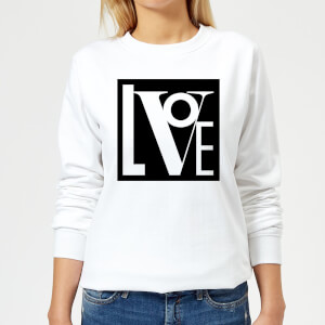 Love Women's Sweatshirt - White