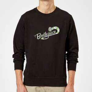 Beetlejuice Turn On The Juice Sweatshirt - Black