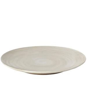 Broste Copenhagen Grod Stoneware Dinner Plate - Sand (Set of 4)