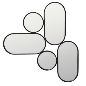 Broste Copenhagen Parko Iron Mirror - Black
