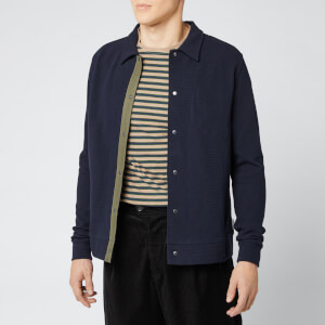 Oliver Spencer Men's Rundell Jersey Jacket - Navy