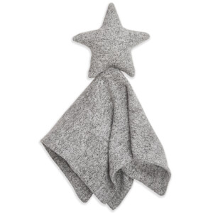 aden + anais Snuggle Knit Star Lovey - Heather Grey
