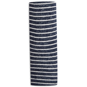 aden + anais Snuggle Knit Swaddle Blanket - Navy Stripe