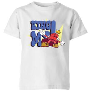 King Me! Checker Kids' T-Shirt - White