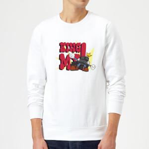King Me! Checker King Sweatshirt - White