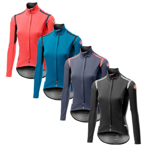 Castelli Women's Perfetto RoS Long Sleeve Jacket - Light Black