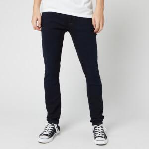 Nudie Jeans Men's Skinny Lin Jeans - Mali Blue