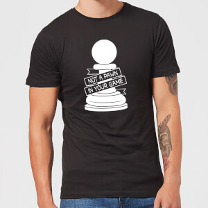 Pawn Chess Piece Men's T-Shirt - Black