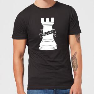 Rook Chess Piece Men's T-Shirt - Black