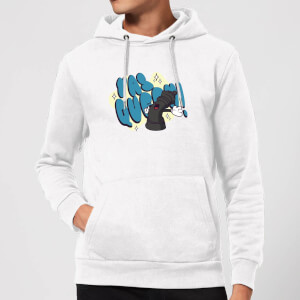 Yas Queen! Cartoon Hoodie - White