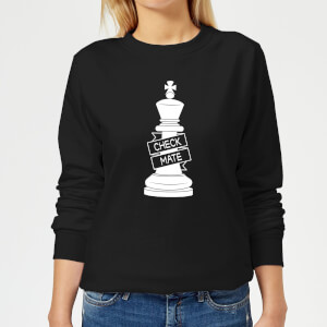 King Chess Piece Women's Sweatshirt - Black