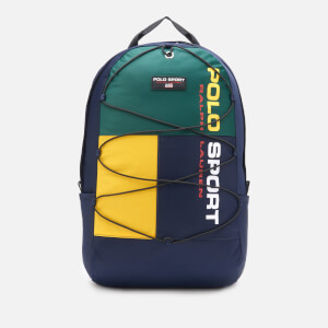 Polo Ralph Lauren Men's Polo Sport Backpack - Navy/Green/Yellow