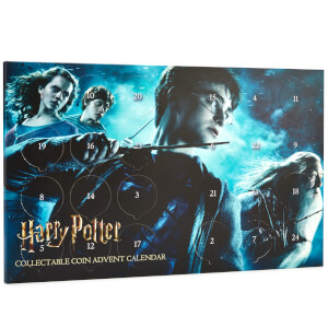 Harry Potter Limited Edition Collectable Coin Advent Calendar - Zavvi Exclusive