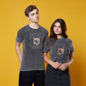 Gotham Guardian T-Shirt - Black Acid Wash