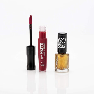 Rimmel Lips & Tips Stocking Filler (Worth £10.00)