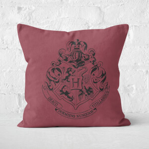 Hogwarts Crest 40x40cm Square Cushion Square Cushion