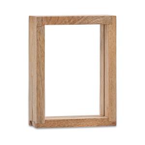 """Nkuku Indu Standing Wooden Frame - 6 x 8"""""""