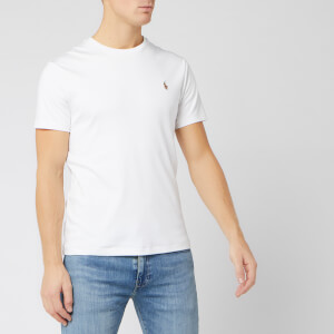 Polo Ralph Lauren Men's Custom Slim Fit T-Shirt - White