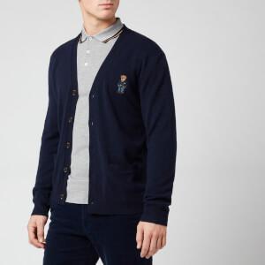 Polo Ralph Lauren Men's Bear Knit Cardigan - Hunter Navy