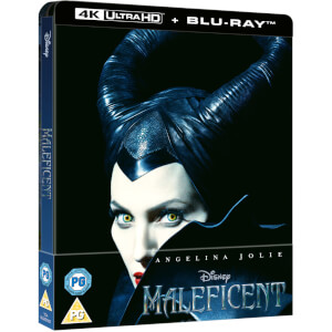 Maleficent – 4K Ultra HD Zavvi Exclusive Steelbook (Includes 2D Blu-ray)