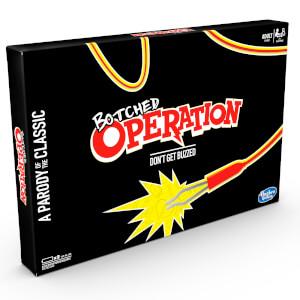 Jeu de plateau électronique Botched Operation, une parodie pour adultes du jeu Docteur Maboul