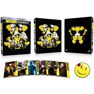 Watchmen: The Ultimate Cut - 4K Ultra HD Zavvi Exclusive Steelbook