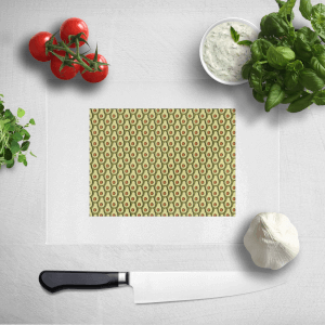 Cooking Avocado Pattern Chopping Board