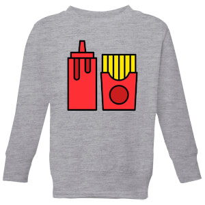 Cooking Ketchup And Fries Kids' Sweatshirt