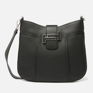 Tod's Women's Logo Hobo Bag - Black