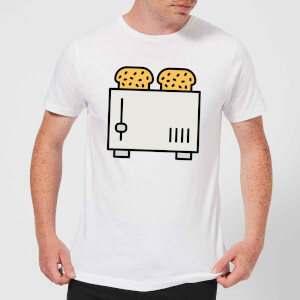 Cooking Toast In The Toaster Men's T-Shirt