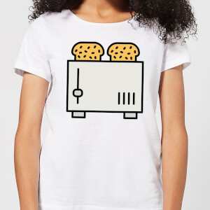 Cooking Toast In The Toaster Women's T-Shirt