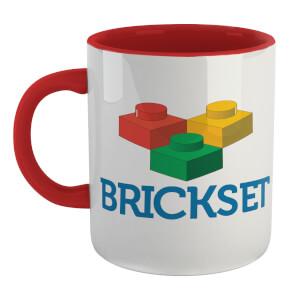 Brickset Logo Mug - White/Red