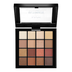NYX Professional Makeup Ultimate Eye Shadow Palette - Warm Neutrals